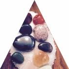 Triangle Reiki Stones